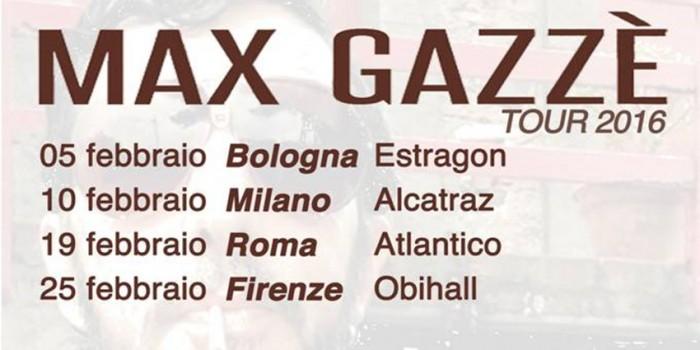 Max Gazzè date tour