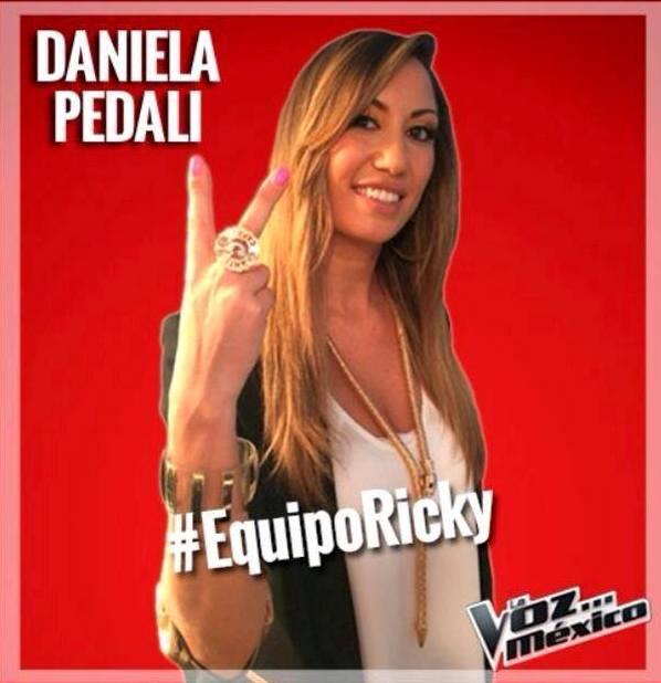 Daniela Pedali La voz