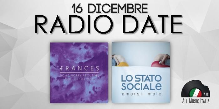 radio date 16 dicembre