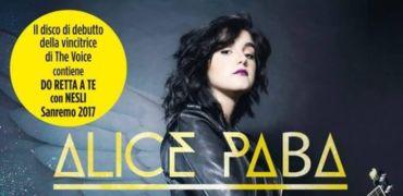 """Arriva il 10 febbraio con Sanremo """"Se fossi un angelo"""" il disco della vincitrice di The Voice ALICE PABA"""