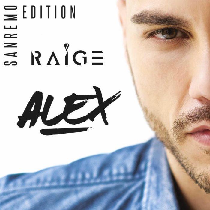 raige alex sanremo edition copertina