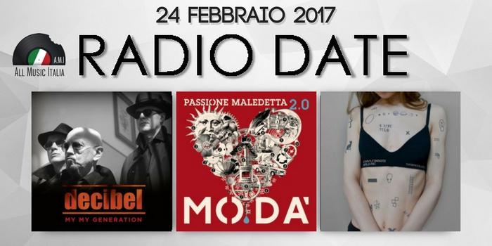 radio date 24 febbraio