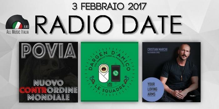 radio date 3 febbraio