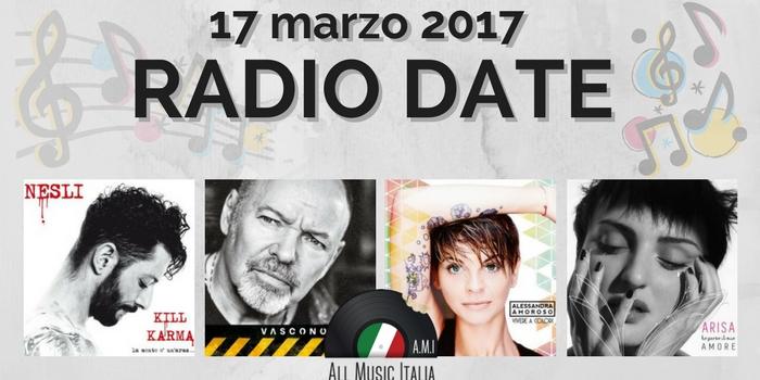 radio date 17 marzo