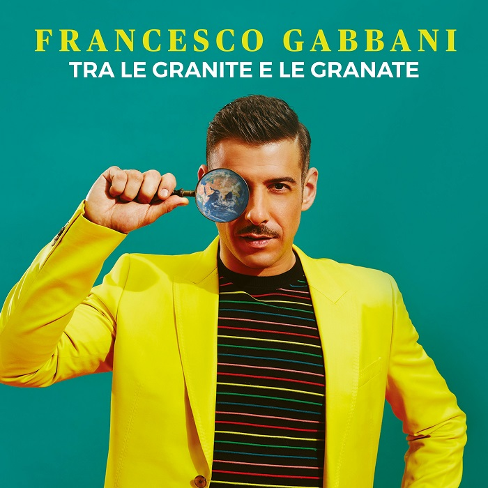 francesco gabbani tra le granite e le granate