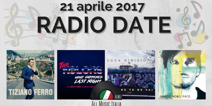 radio date 21 aprile