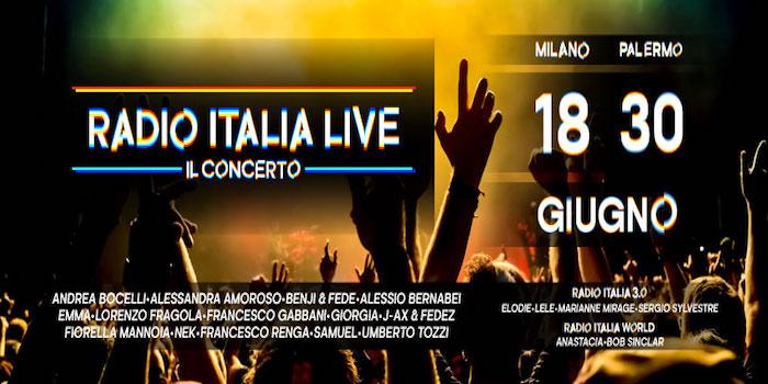 radio italia il concerto