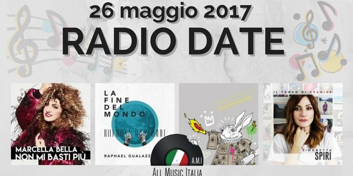radio date 26 maggio