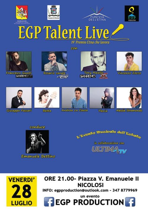 Egp talent live