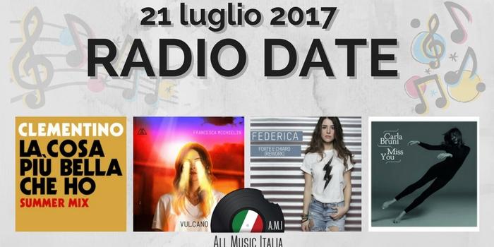 radio date 21 luglio 2017