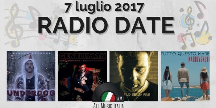 radio date 7 luglio 2017