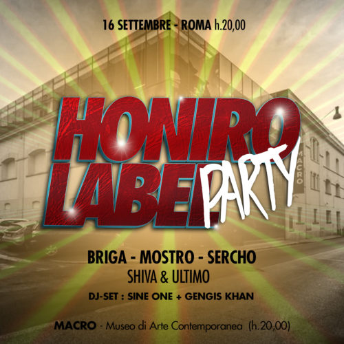 Honiro Label Party