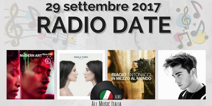 radio date 29 settembre 2017