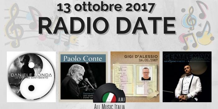 radio date 13 ottobre 2017