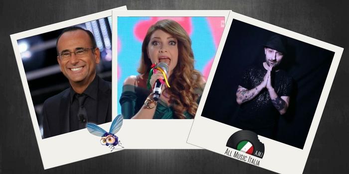 Cristina D'Avena, Carlo Conti, Massimiliano Longo