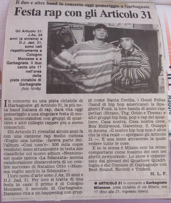 Corriere della Sera - 24 maggio 1998