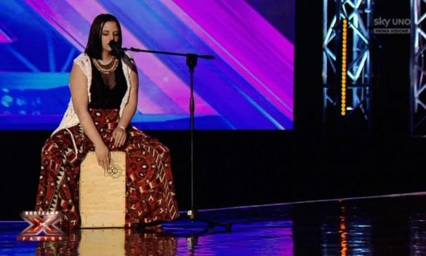 Grace Cambria durante i Boot camp di X Factor 2016