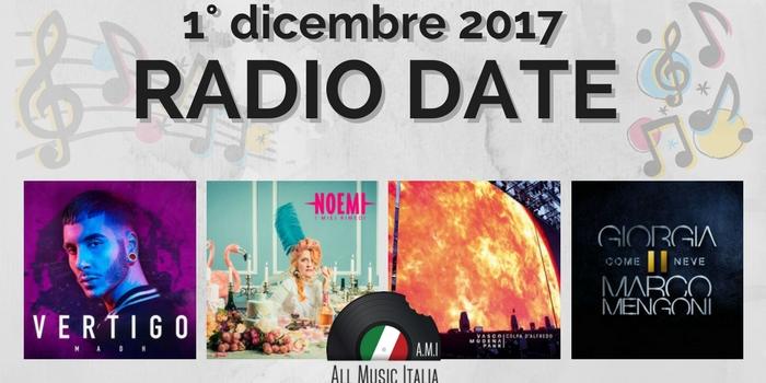 radio date 1 dicembre