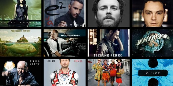album più venduti in Italia