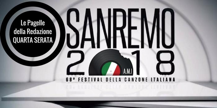 Sanremo 2018 le pagelle della redazione 4a puntata le for Redazione italia