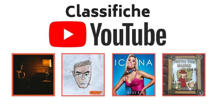 Classifiche youtube Fedez