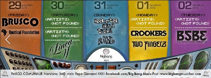 Big-Bang-Music-Fest-Programma