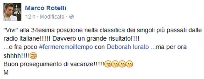 Deborah-Iurato-Marco-Rotelli-Facebook