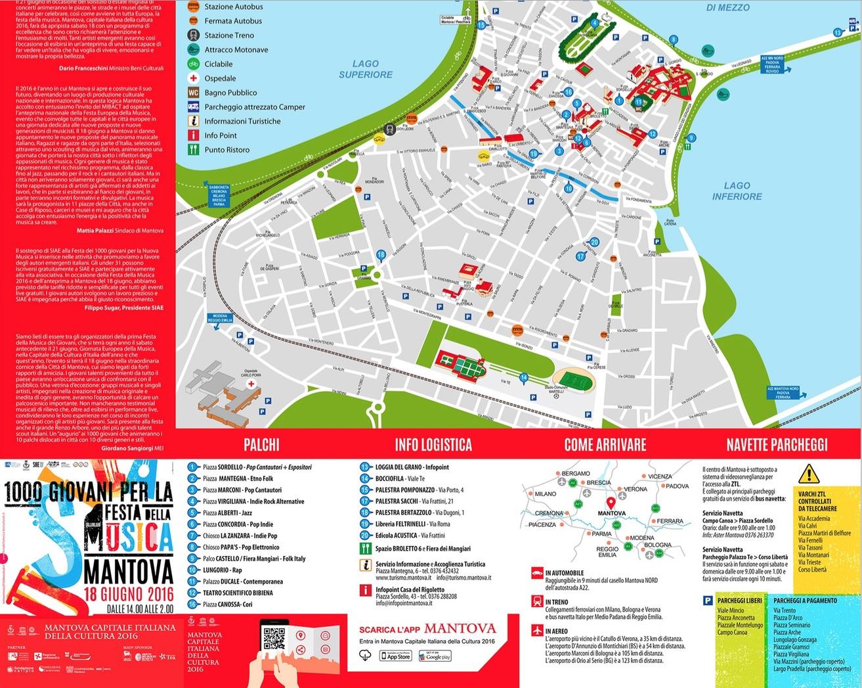 Festa dei 1000 giovani mappa
