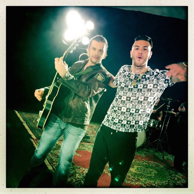 Gianluca Grignani & Emis Killa - Fuori dai guai Videoclip - Photo di Francesca Dall'Olio