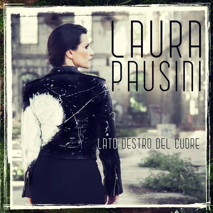 Laura Pausini cover singolo Lato destro del cuore