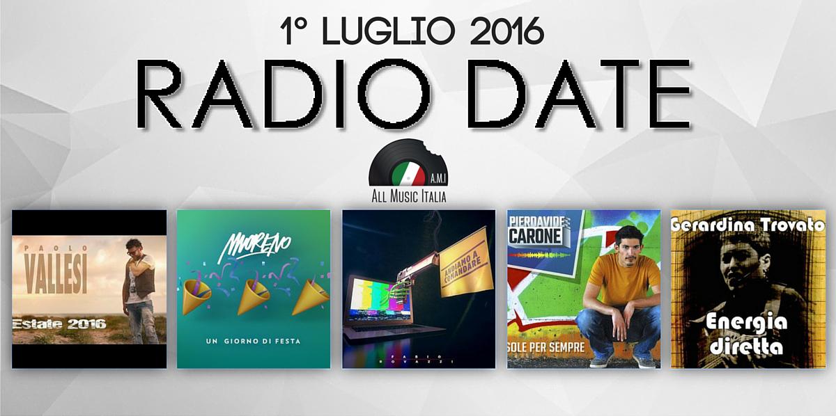 RadioDate 1 luglio