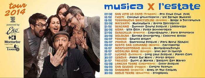 Perturbazione tour 2014