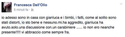 Smentita moglie Grignani