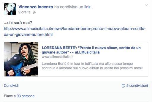 Vincenzo Incenzo autore Berté