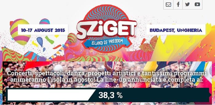 Sziget-Line-Up
