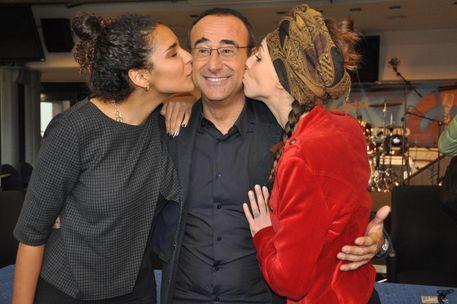 Le vincitrici di Area Sanremo 'Amara' e 'Chanty'