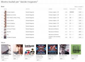 Davide Mogavero - Lista album iTunes