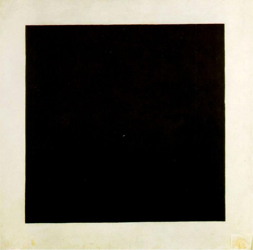 """""""Quadrato nero"""" (1914/15) - Kazimir Malevich"""