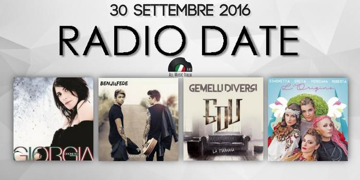 Radio date 30 settembre i nuovi singoli di giorgia benji fede gemelli diversi e tanti featuring - La fiamma gemelli diversi ...