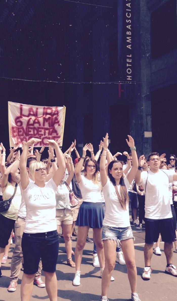 #SIMILIDAY Flashmob Milano