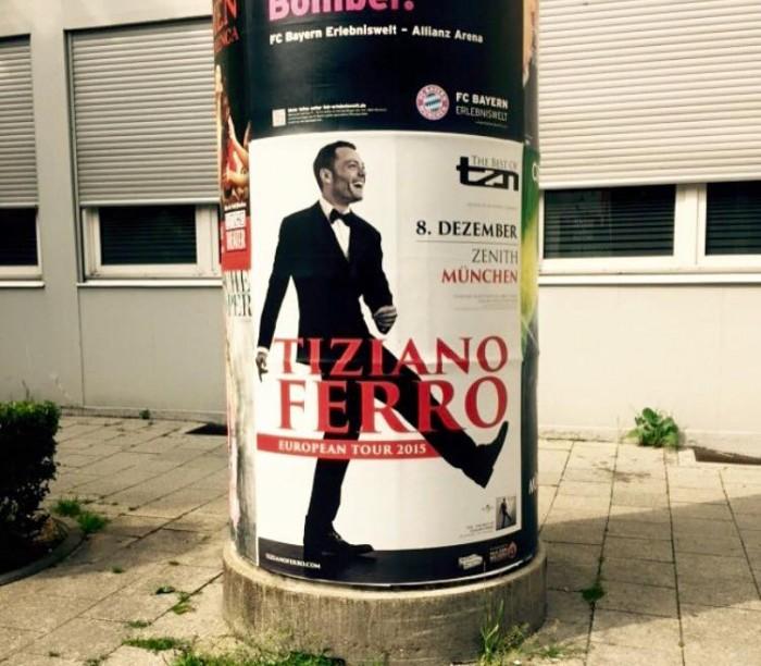 Foto tratta dalla pagina Facebook di Tiziano Ferro